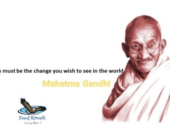 How Mahatma Gandhi Inspire Us