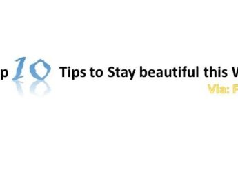 Top 10 Tips to Stay beautiful this Winter