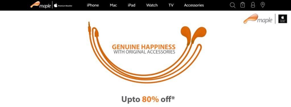 Maple Online Store
