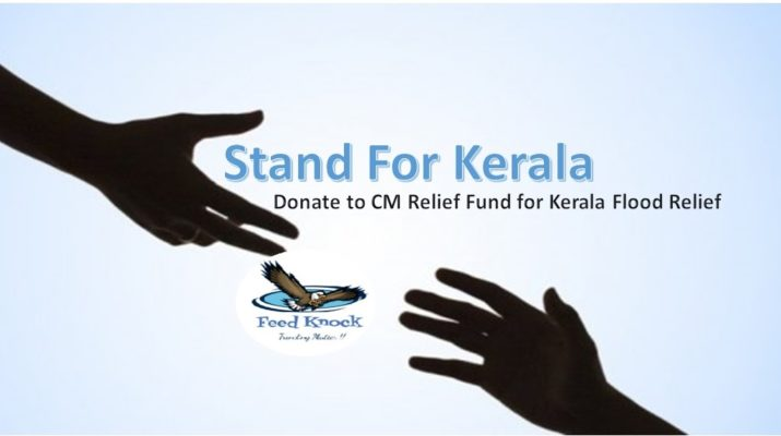 Donate to CM Relief Fund for Kerala Flood Relief
